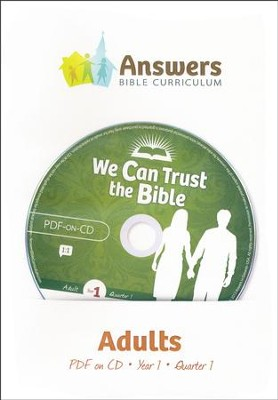 Answers Bible Curriculum Year 1 Quarter 1 Adult Teacher Kit on CD-ROM  -