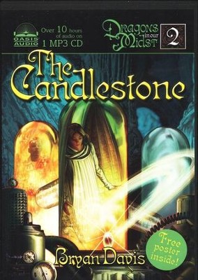 The Candlestone, Dragons in Our Midst Chronicles #2 Audiobook on MP3  -     By: Bryan Davis