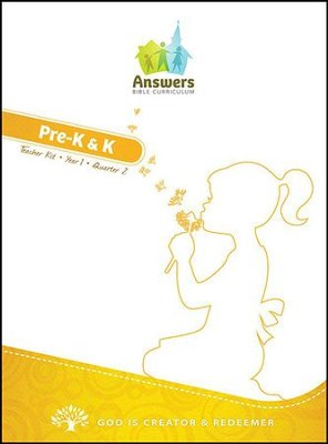 Answers Bible Curriculum Year 1 Quarter 2 Preschool Teacher Kit on CD-ROM  -