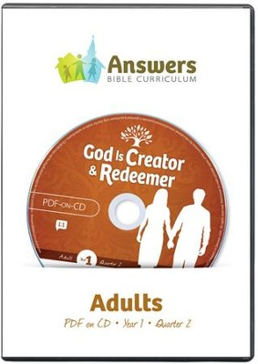 Answers Bible Curriculum Year 1 Quarter 2 Adult  Teacher Kit on CD-ROM  -