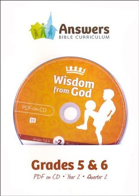 Answers Bible Curriculum Year 2 Quarter 2 Grades 5-6 Teacher Kit on CD-ROM  -