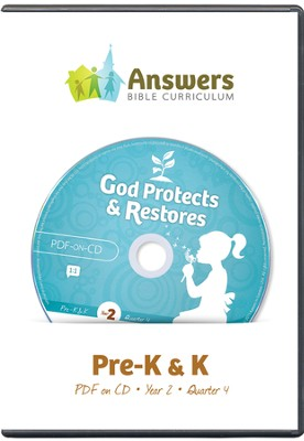 Answers Bible Curriculum Year 2 Quarter 4 Prechool  Teacher Kit on CD-ROM  -