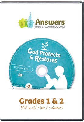 Answers Bible Curriculum Year 2 Quarter 4 Grades 1-2 Teacher Kit on CD-ROM  -
