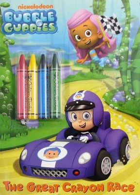 Bubble Guppies Chunky Crayon Book Bubble Guppies  -     By: Golden Books