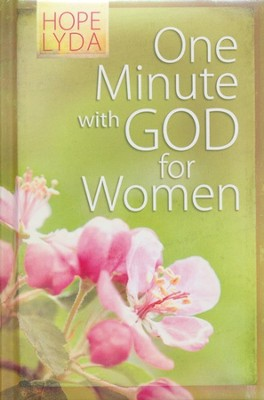 One Minute with God for Women Gift Edition  -     By: Hope Lyda