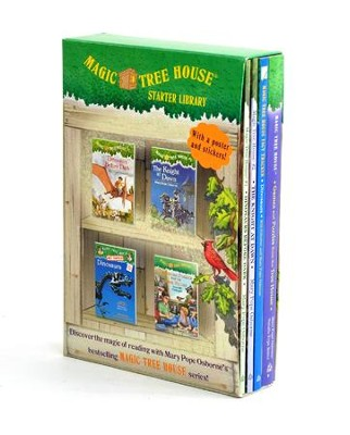 Magic Tree House: Starter Library Boxed Set  -     By: Mary Pope Osborne, Will Osborne, Natalie Pope Boyce