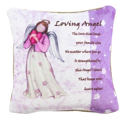 Loving Angel Pillow, Small  -