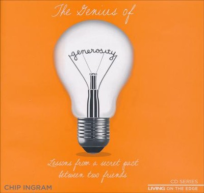Genius of Generosity CD Series  -     By: Chip Ingram