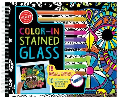 Color-In Stained Glass   -