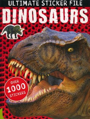 Ultimate Sticker File: Dinosaurs  -