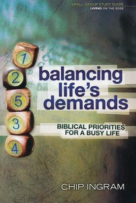 Balancing Life's Demands Study Guide - Slightly Imperfect  -     By: Chip Ingram