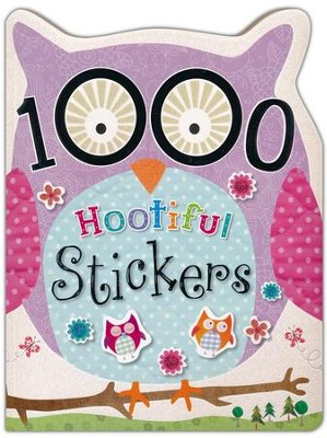 1000 Hootiful Stickers  -