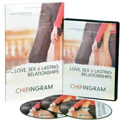 Love, Sex, & Lasting Relationships Group Starter Kit (1 DVD Set & 5 Study Guides)  -     By: Chip Ingram
