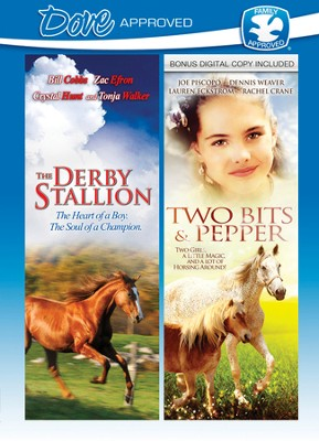 The Derby Stallion/Two Bits & Pepper, Double Feature DVD   -