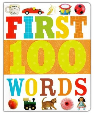 First 100 Words, Board Book  -