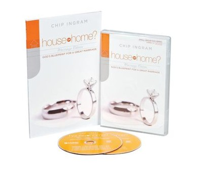 House or Home - Marriage Personal Study Kit (1 DVD Set & 1 Study Guide)  -     By: Chip Ingram