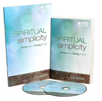 Spiritual Simplicity Personal Study Kit (1 DVD Set & 1 Study Guide)  -     By: Chip Ingram