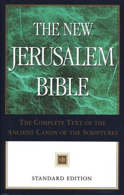 The New Jerusalem Bible, Standard Edition, Hardcover  -     By: Henry Wansbrough