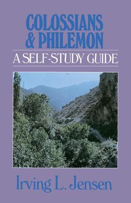 Colossians & Philemon- Jensen Bible Self Study Guide - eBook  -     By: Irving L. Jensen