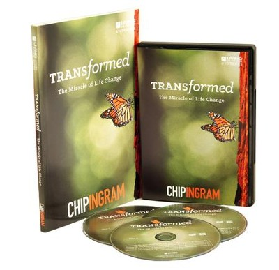 Transformed Group Starter Kit (1 DVD Set & 5 Study Guides)   -     By: Chip Ingram