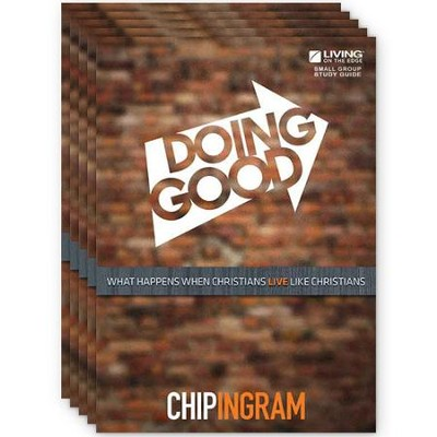 Doing Good Study Guide, pack of 5   -     By: Chip Ingram