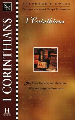 Shepherd's Notes: 1 Corinthians   -     By: David R. Shepherd