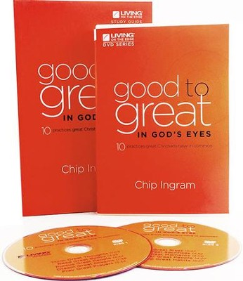 Good to Great in God's Eyes Group Starter Kit (1 DVD Set & 5 Study Guides)   -     By: Chip Ingram