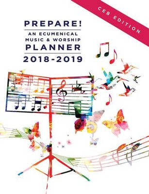 Prepare! 2018-2019 CEB Edition: An Ecumenical Music & Worship Planner - eBook  -     By: Mary J. Scifres, David L. Bone