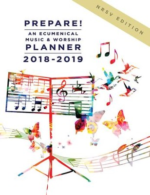 Prepare! 2018-2019 NRSV Edition: An Ecumenical Music & Worship Planner - eBook  -     By: Mary J. Scifres, David L. Bone