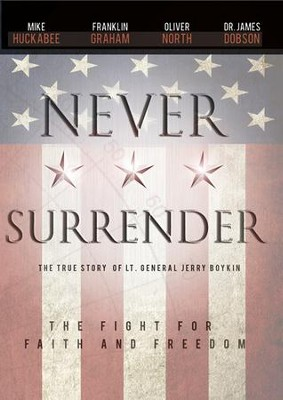 Never Surrender, DVD   -