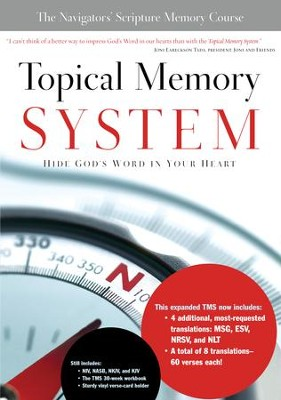 Topical Memory System - eBook  -     By: The Navigators