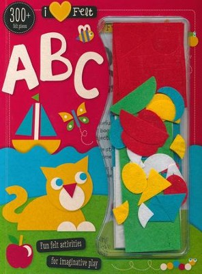 I Love Felt ABC Activity Book  -