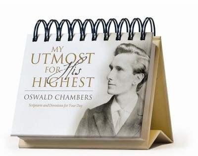 My Utmost for His Highest Perpetual Calendar  -     By: Oswald Chambers