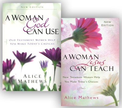 A Woman God Can Use/A Woman Jesus Can Teach - 2 Pack  -     By: Alice Mathews