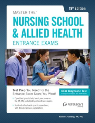 Master the Nursing School & Allied Health Exams  -     By: Peterson's