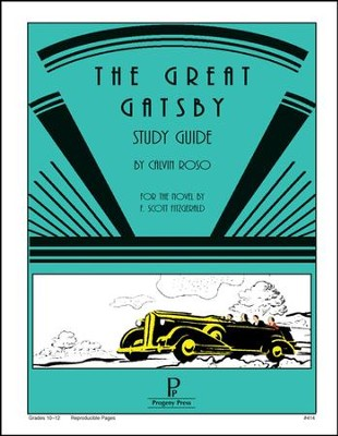 The Great Gatsby Progeny Press Study Guide   -     By: Calvin Roso