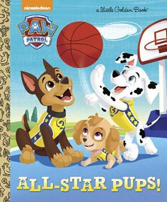 Little Golden Book: All Star Pups  -     By: Mary Tillworth
