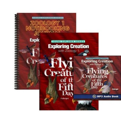 Exploring Creation with Zoology 1: Flying Creatures of the Fifth Day Super Set (with Notebooking Journal)  -