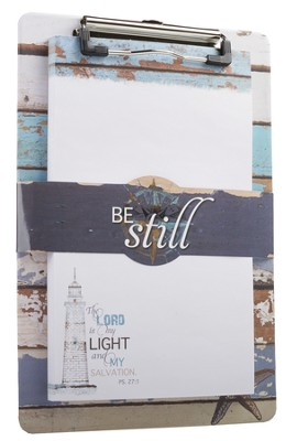 Be Still Nautical, Clipboard  -