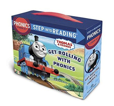 Thomas and Friends: Get Rolling with Phonics (12-book set)  -     By: Christy Webster