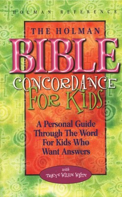 Holman Bible Concordance for Children   -     By: Tracy Wilson White