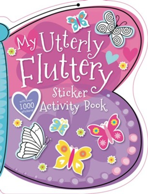 My Utterly Fluttery Sticker Activity Book  -
