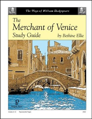 The Merchant of Venice Progeny Press Study Guide   -     By: Bethine Ellie