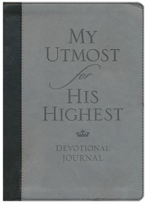 My Utmost for His Highest Devotional Journal  -     By: Oswald Chambers