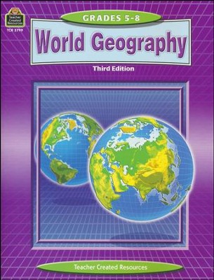 World Geography, Grades 5-8, 3rd Edition   -     By: Richard Rayburn