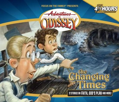Adventures in Odyssey® 289: A Call for Reverend Jimmy  [Download] -