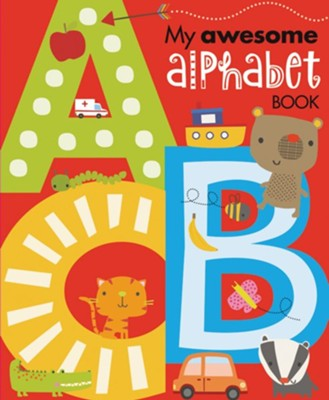 My Awesome Alphabet Book Boardbook  -