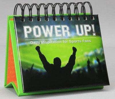 Power Up! Perpetual Calendar: Daily Inspiration for Sports Fans  -     By: Dave Branon