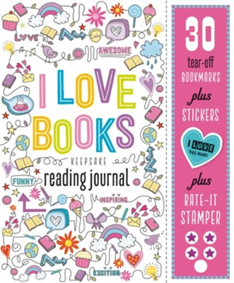 I Love Books: Keepsake Reading Journal   -