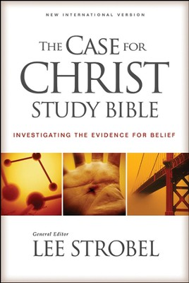 The Case for Christ Study Bible: Investigating the  Evidence for Belief, Hard cover - Slightly Imperfect  -
